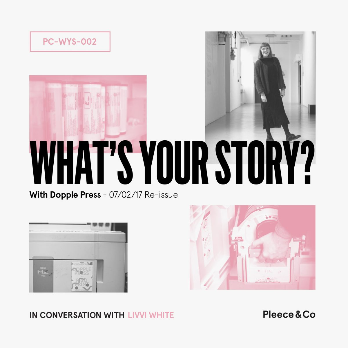 Dopple Press  What's Your Story? Reissue